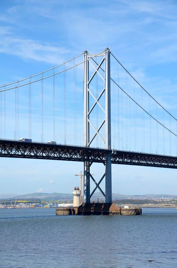 Вперед мост дороги, Queensferry стоковые изображения