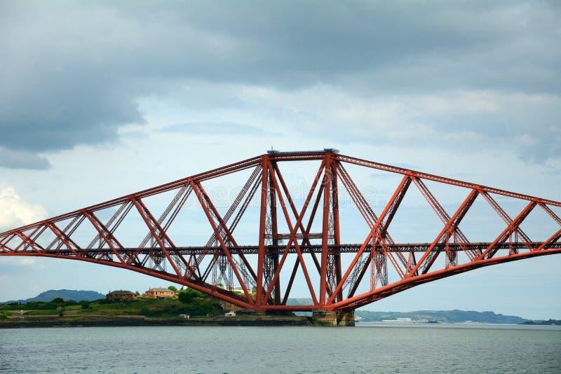 Вперед мост, лиман вперед, Шотландия стоковая фотография
