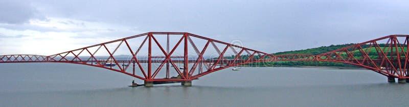 Вперед мост, лиман вперед, Шотландия стоковая фотография rf