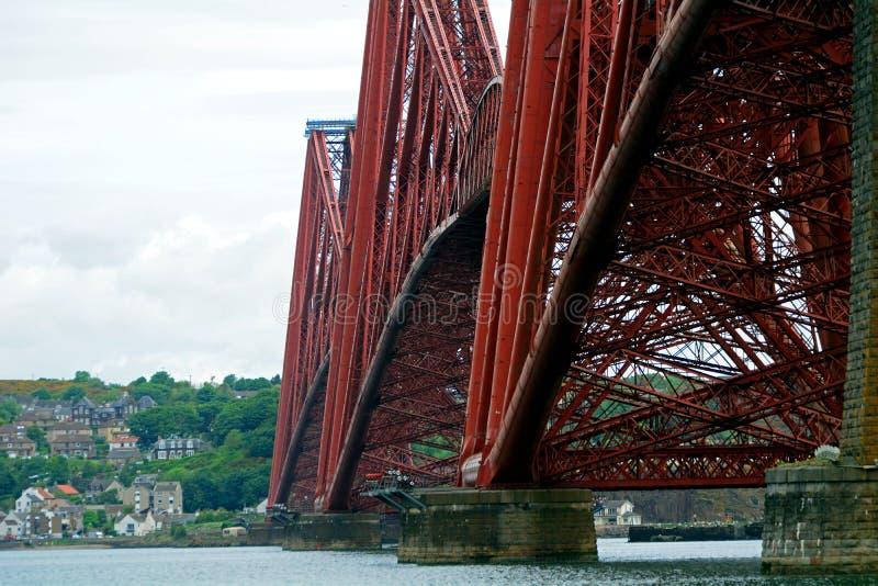 Вперед мост, южное Queensferry, Шотландия стоковая фотография rf
