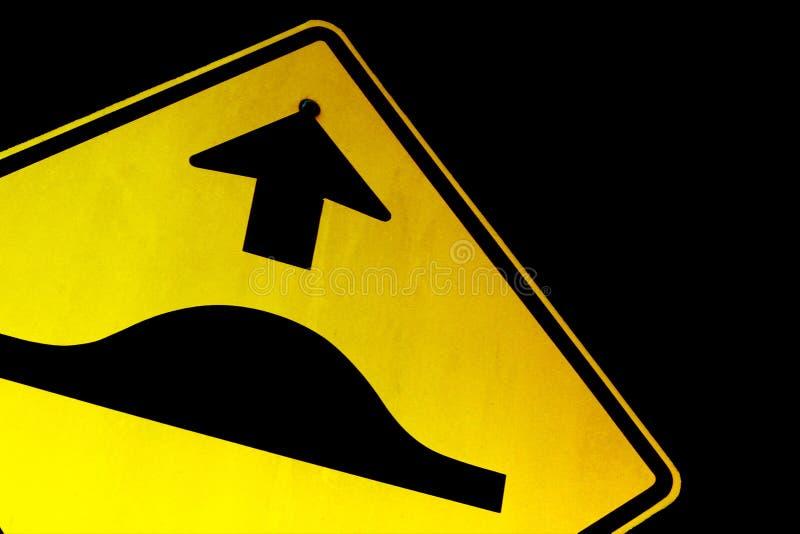 вперед ухабистая дорога стоковое фото
