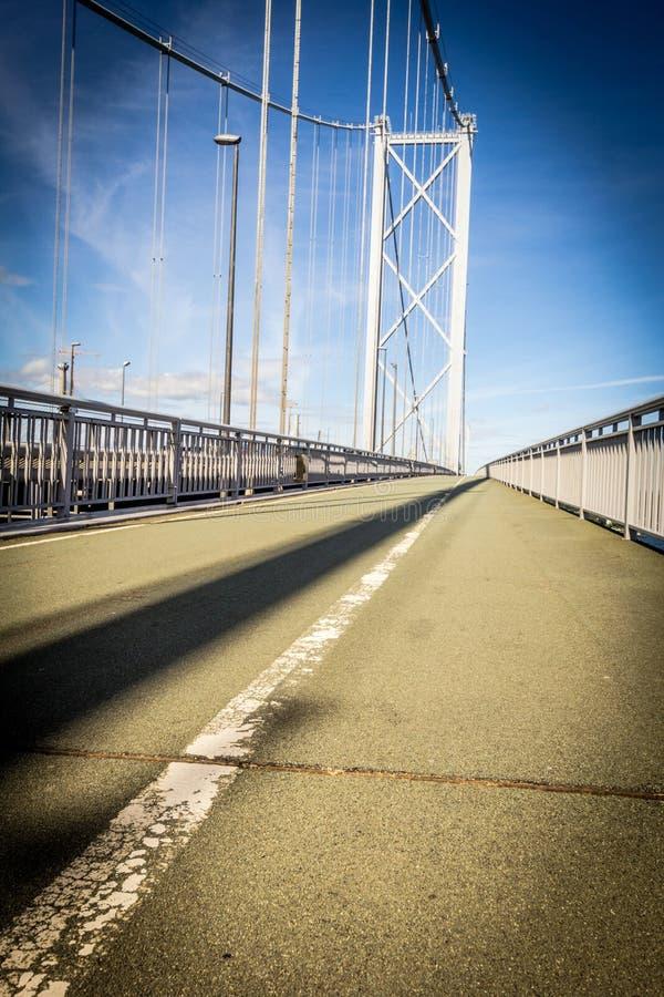 Вперед мост дороги, конец вверх стоковые изображения rf