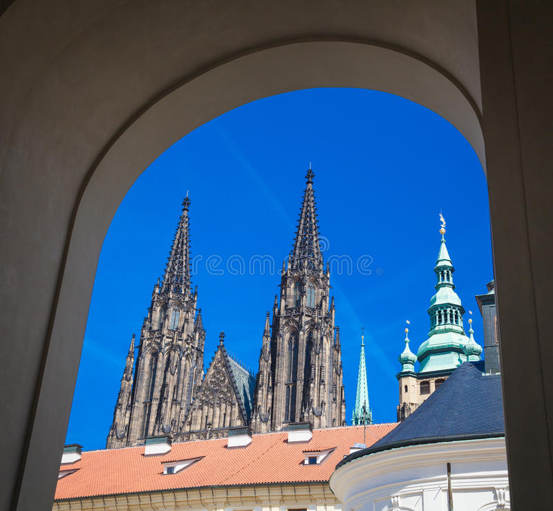 Впечатления Праги стоковая фотография rf