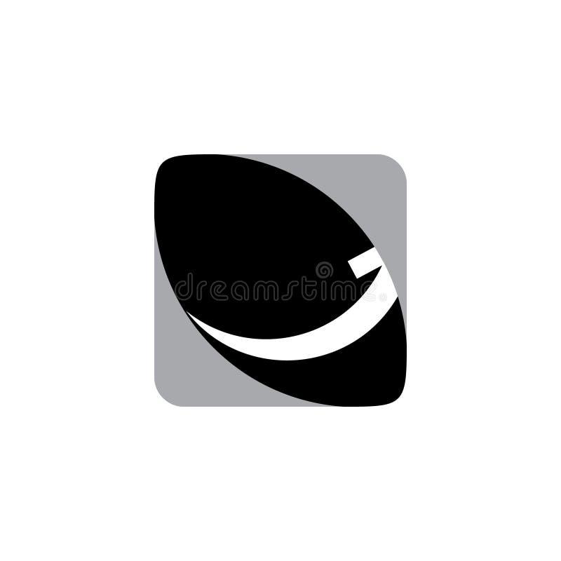 Вписанный стрелкой вектор логотипа бесплатная иллюстрация