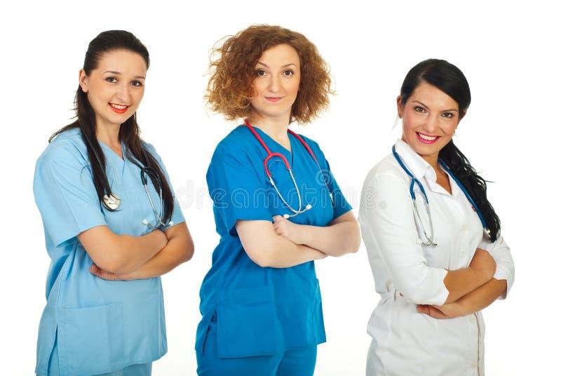 врачует содружественных женщин команды стоковые изображения rf
