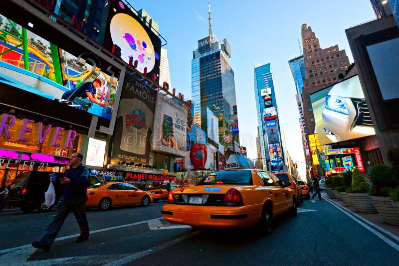 времена США york города новые квадратные стоковая фотография