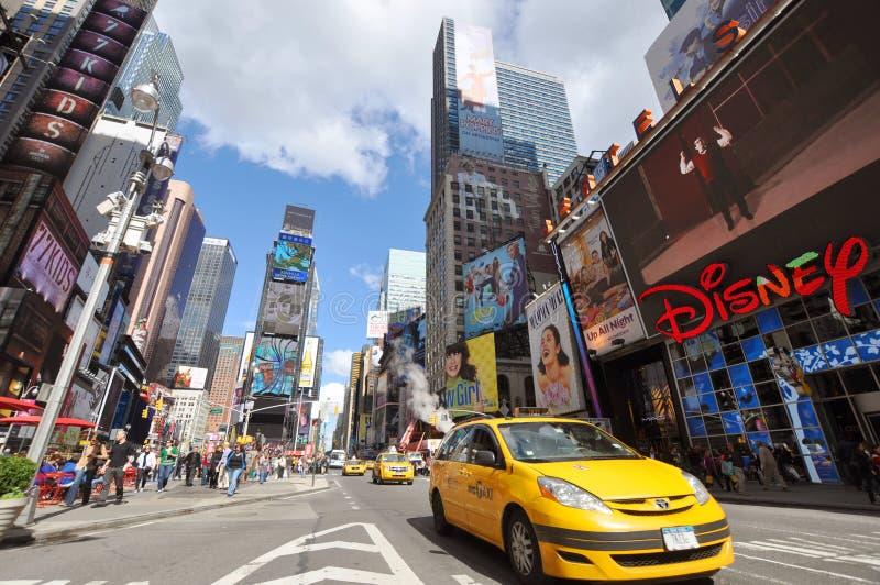 времена york 7th города ave новые квадратные стоковая фотография rf