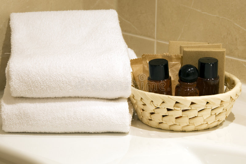 время ванны стоковое изображение