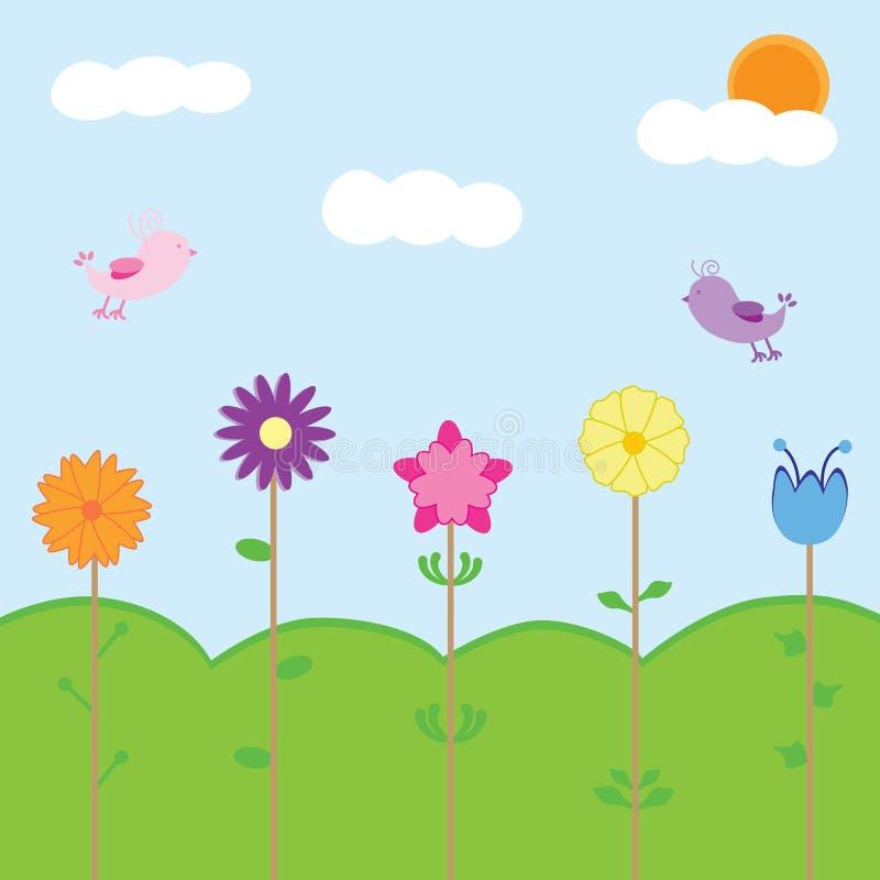 время весны иллюстрация штока