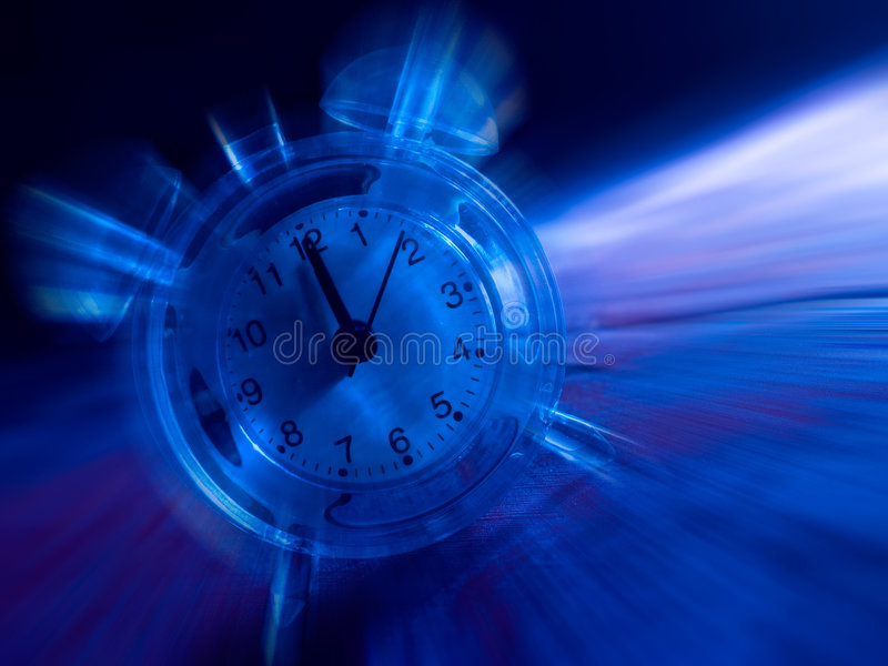 время движения иллюстрация вектора