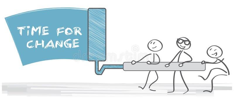 Время для иллюстрации изменения бесплатная иллюстрация