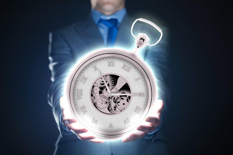 Download Время деньги стоковое изображение. изображение насчитывающей торговец - 41651433