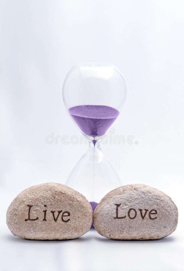 Время жить и любить стоковое фото rf