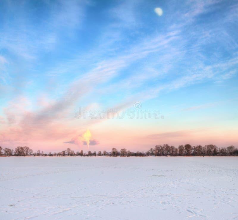 Время зимы стоковая фотография