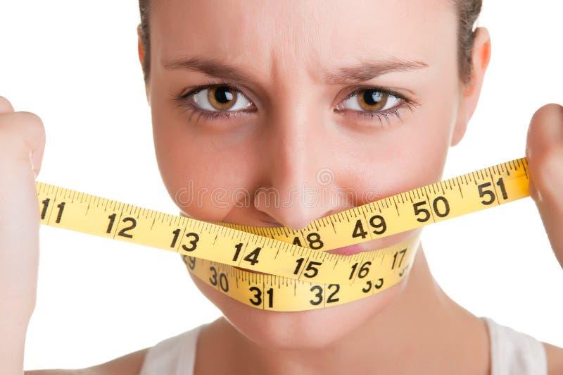 Время диеты стоковое изображение rf
