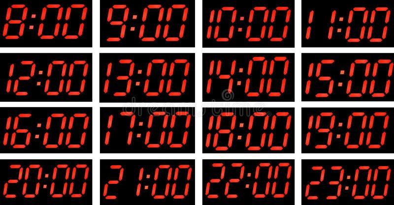 Время коллажа. иллюстрация вектора