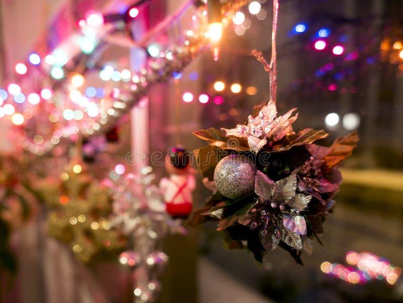 время конца рождества предпосылки красное вверх стоковые фотографии rf