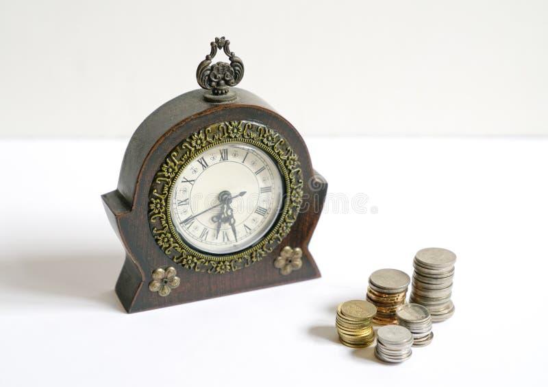Время концепция денег стоковые изображения rf