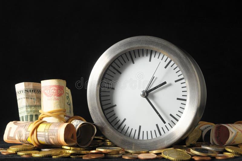 Время концепция денег стоковая фотография rf