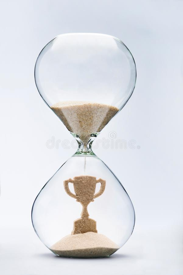Время концепция успеха стоковые фото