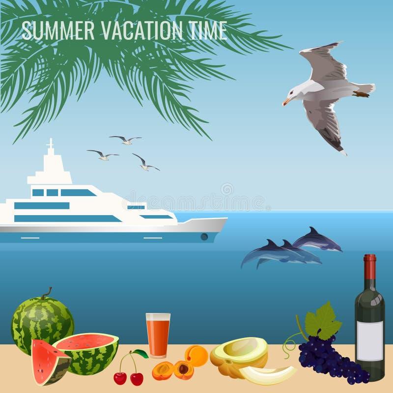 Время летних каникулов стоковые фотографии rf