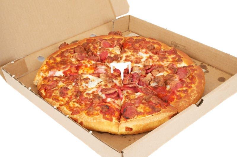 время пиццы стоковые фото
