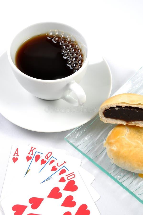 время покера стоковое фото rf