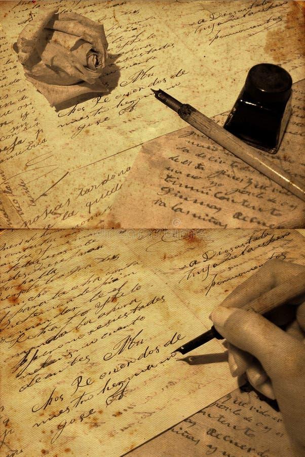 время поэзии стоковая фотография rf