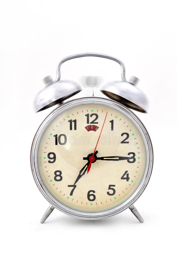 Время получить до идет работать стоковое изображение rf