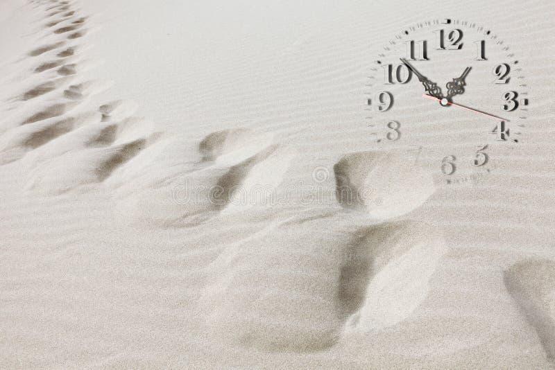 Время проходя принципиальную схему стоковые фотографии rf