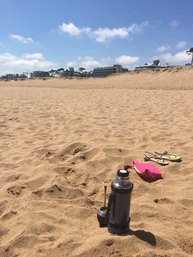 Время пляжа стоковая фотография rf
