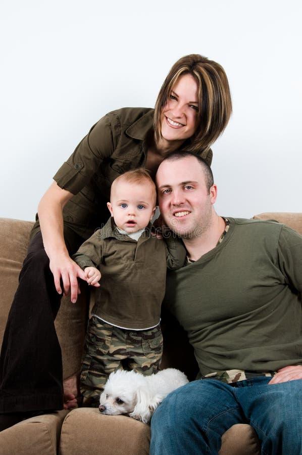 время семьи стоковое изображение