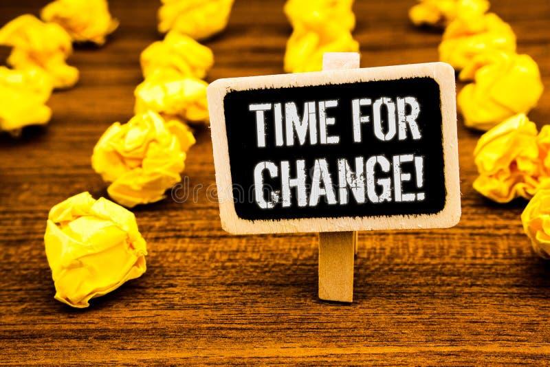 Время сочинительства текста почерка для звонка изменения мотивационного Переход смысла концепции растет улучшает преобразовывает  иллюстрация вектора