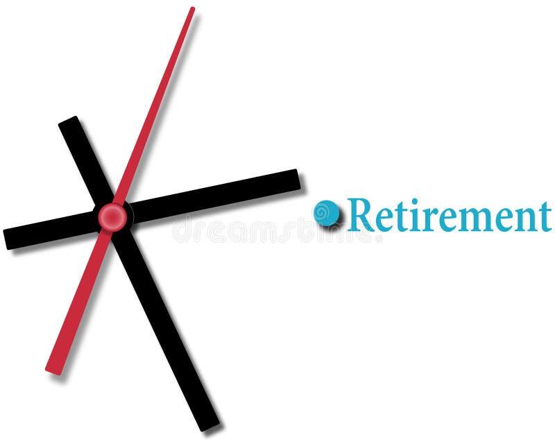 Время финансового планирования выхода на пенсию бесплатная иллюстрация