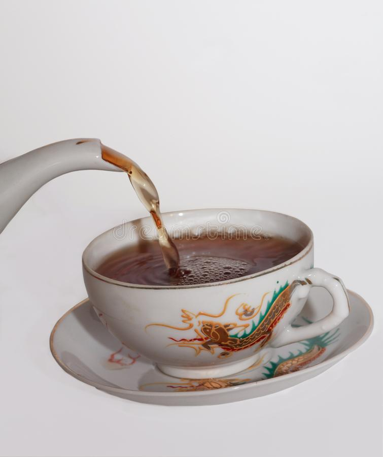 Время чая Бесплатные Стоковые Фото