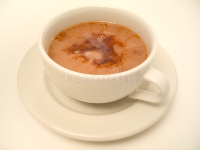 время чая 3 стоковое изображение rf