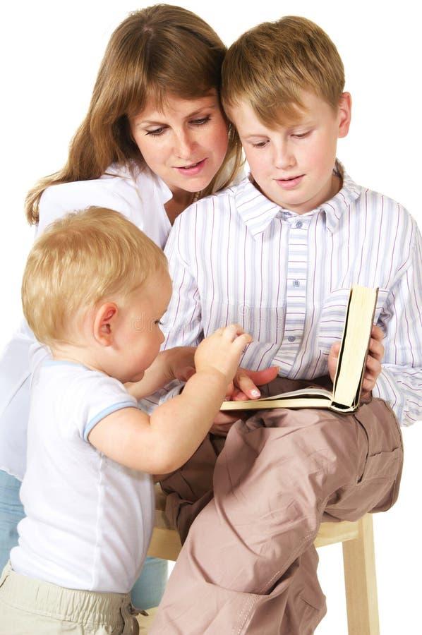 время чтения стоковое изображение