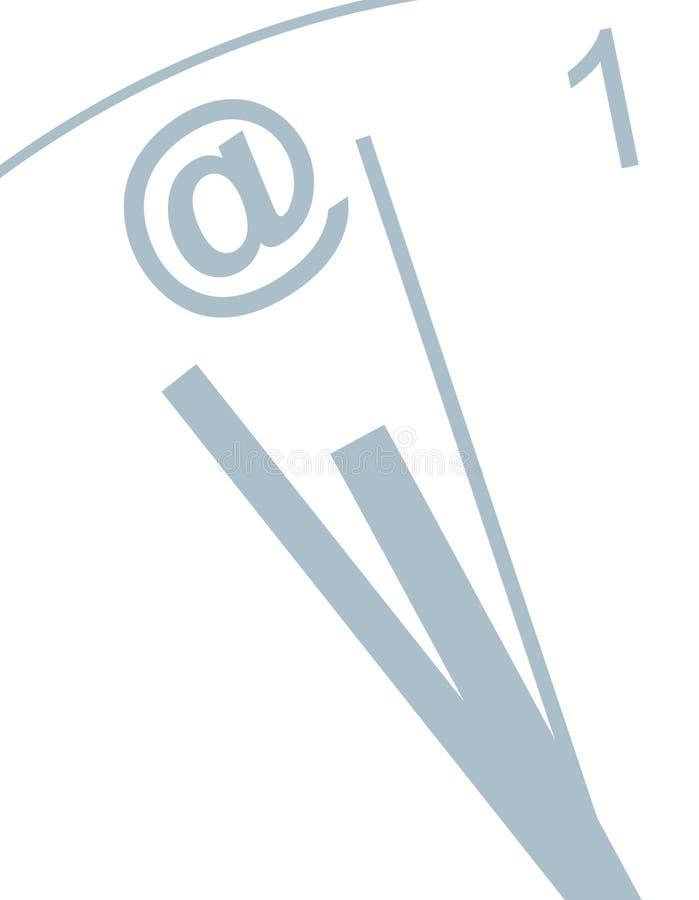 время электронной почты бесплатная иллюстрация