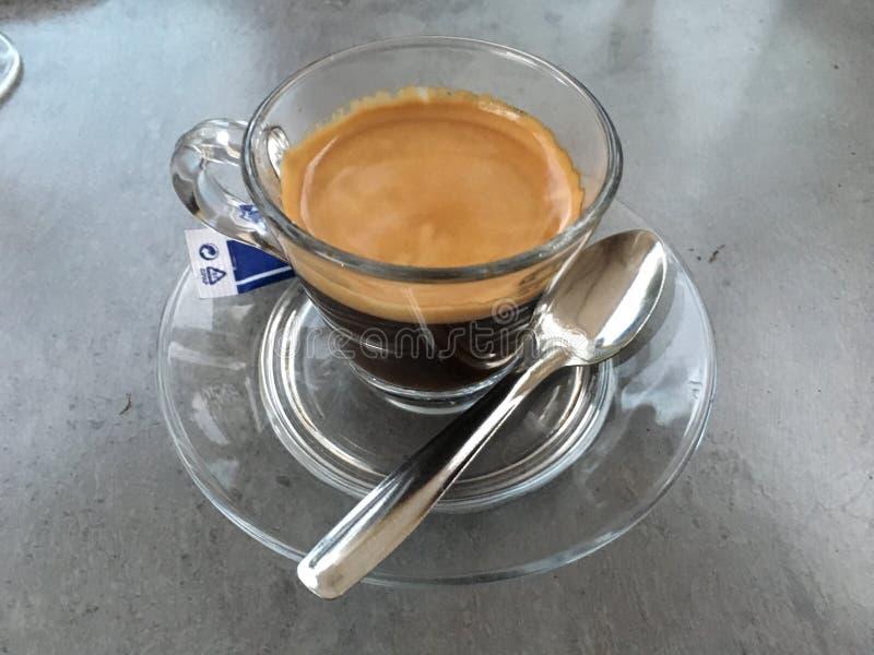 Время эспрессо стоковые фотографии rf