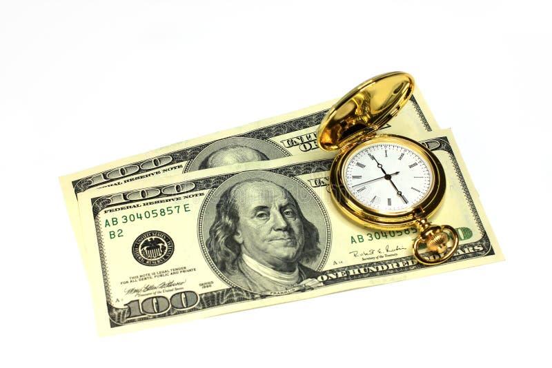 Время для денег стоковые изображения