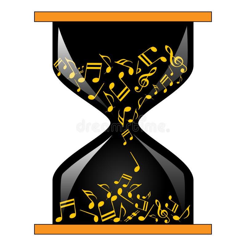 Время для музыки иллюстрация штока