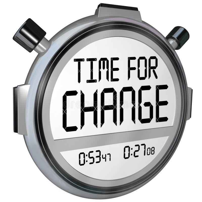Время для часов таймера секундомера изменения бесплатная иллюстрация