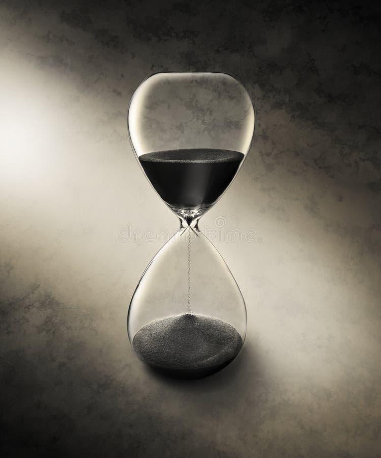 время hourglass стоковые изображения