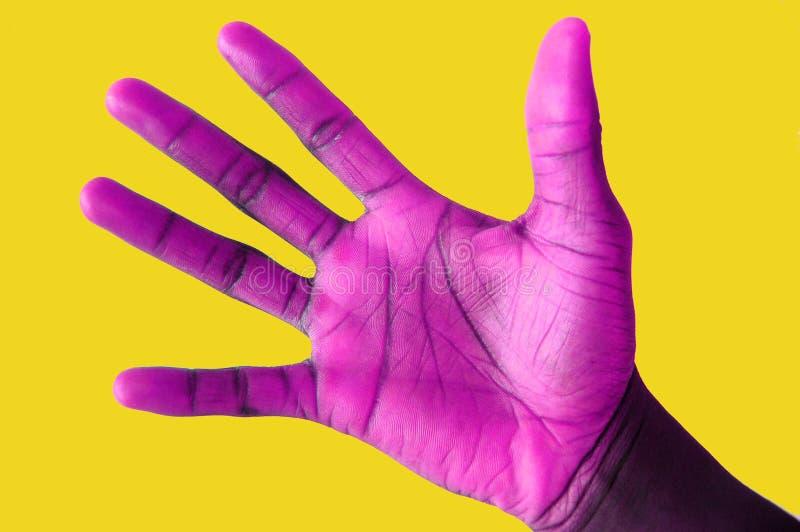 Download врученный пурпур стоковое фото. изображение насчитывающей задвижка - 485334