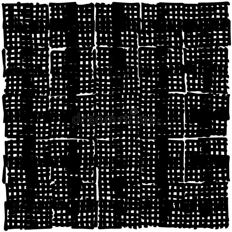 Вручите вычерченные короткие линии основанную картину отметки, составленную прямо, вручную произведенные нашивки бесплатная иллюстрация