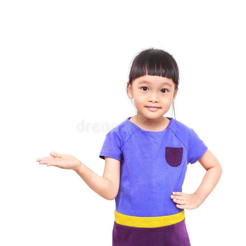 Вручитель маленькой девочки стоковое фото