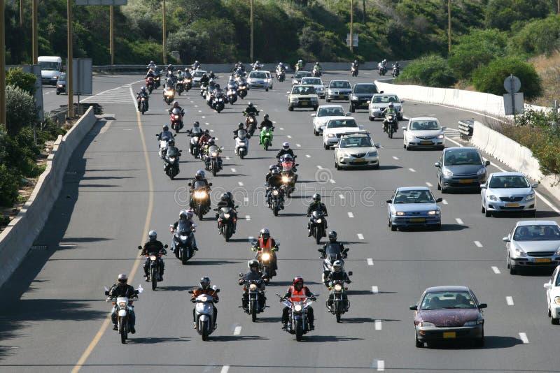 всадники мотоцикла дюжин стоковые фотографии rf