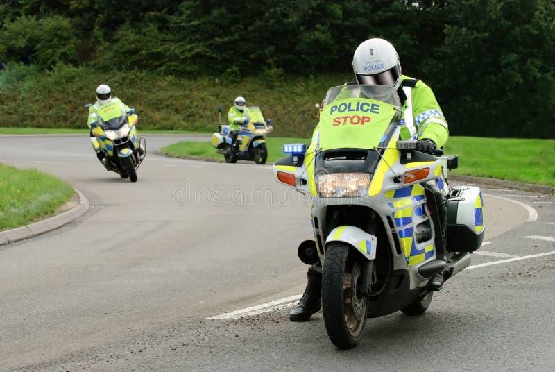 всадники полиций стоковое фото