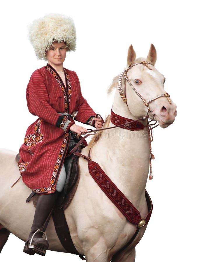 всадник лошади стоковое изображение rf