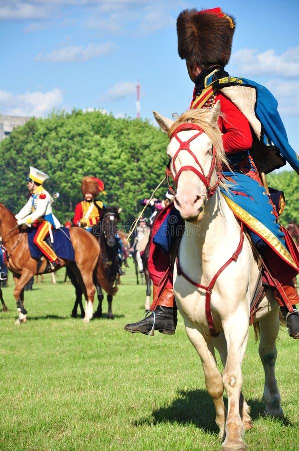 всадник hussar стоковое фото